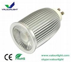 9W LED GU10 spotlight Dimmable CE Rohs SAA