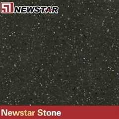 Newstar white sparkle quartz stone countertop