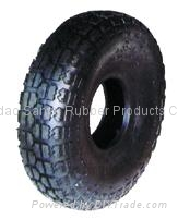Wheel barrow tyre and inner tube 4.00-4