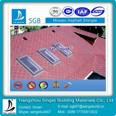 mosaic asphalt shingles building material roofing in china supplier