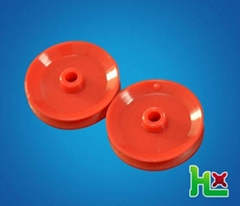 Plastic pulley wheel