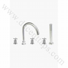 stainless steel bath faucet