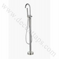 stainless steel floor mounted bath faucet 1