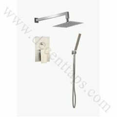 stainless steel concealed shower set