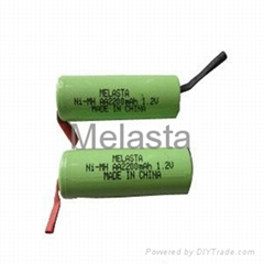 AA Ni-MH Battery Pack 2200mAh 1.2V With Tab