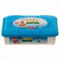 Baby Wipes 80ct with Tub 1