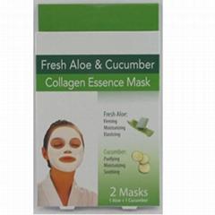 Facial Mask Cucumber 2ct