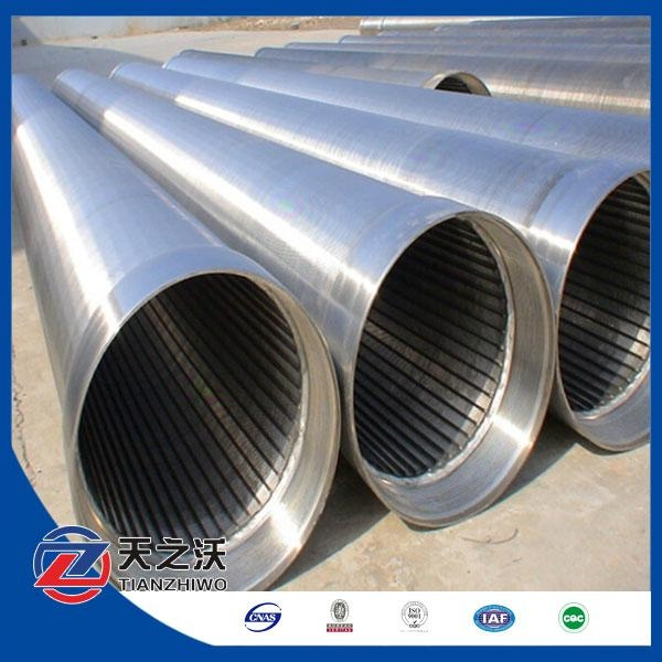 304 stainless steel johnson v wire water well screen pipe  1