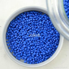 Sky blue plastic color masterbatch granule