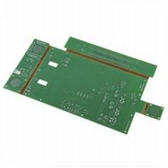 2014 Hot Sale FR4 6 L Flex Rigid Multilayer PCB