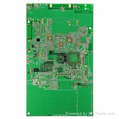 6 Layers TG170 FR4 Impedance Immersion Gold Main Board