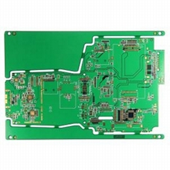 Gold 6 L Multilayer Keyboard PCB with ISO9001 ISO14001 Approved
