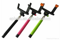 Bluetooth Monopod , Wireless Monopod, Portable Handheld Self-Timer selfie stick