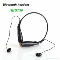 HBS730 portable neck strap wireless sports mini bluetooth earphone with mic