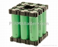 Best Li-ion Battery Pack 18650 3.7V 17.6Ah with PCM and Plastic Holder