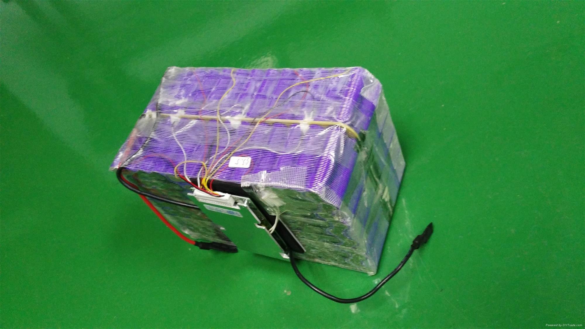 UPS Battery Pack Li-ion 18650 48V 50Ah with PCM  1