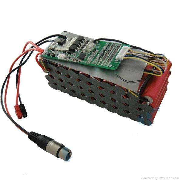 E-Bike Battery Pack 36V 12Ah with Protection PCM and Connectors 1
