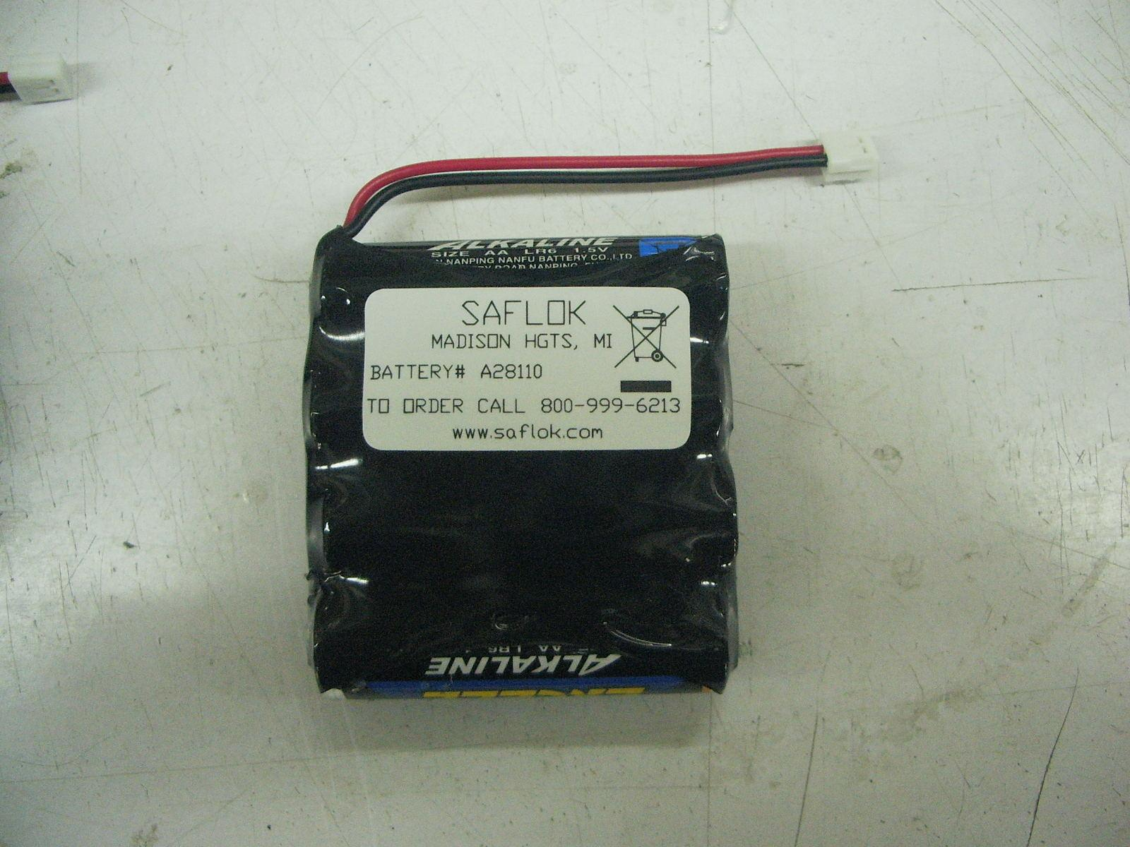 Saflok KABA A28110 Replacement Battery for Electronic Door Locks 4