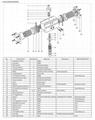 Rotary double single pneumatic actuator for control va  e 5