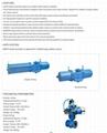 Rotary  va  e pneumatic actuator for control va  es 3