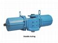Rotary  va  e pneumatic actuator for