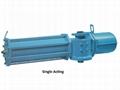 Rotary  va  e pneumatic actuator for control va  es 2