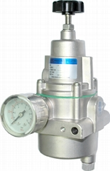 Air filter regulator for pneumatic actuator