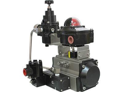 Air filter regulator for pneumatic actuator 3
