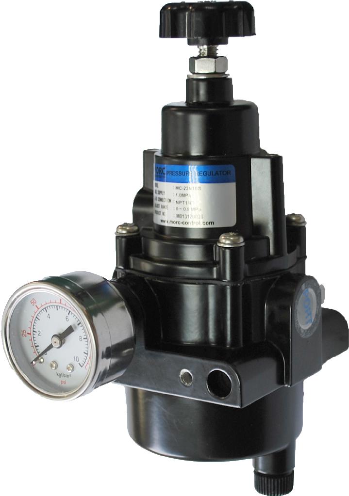 Air filter regulator for pneumatic actuator 2