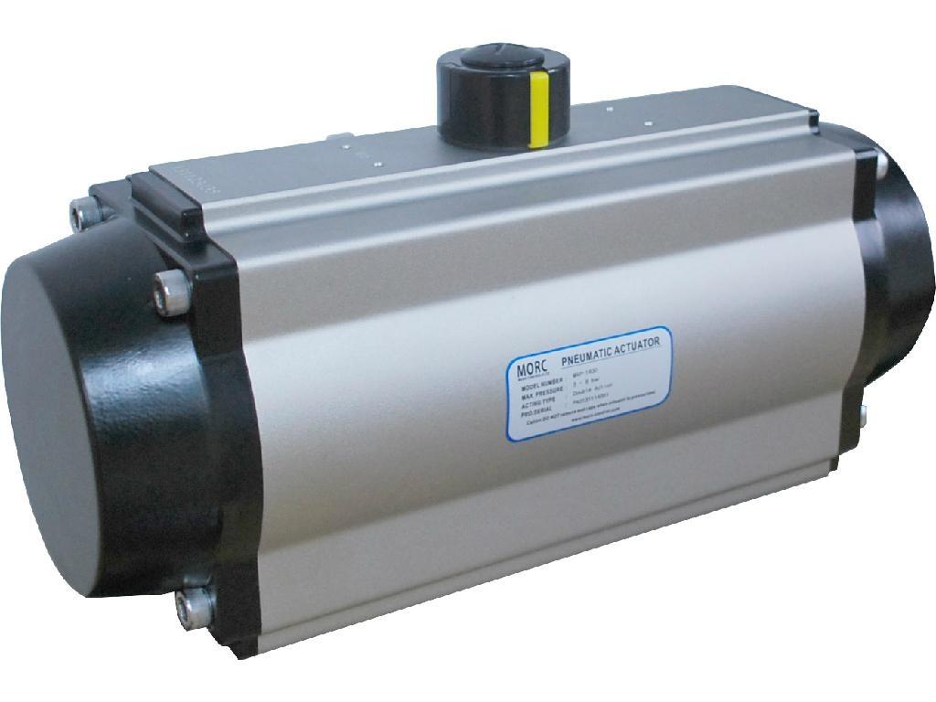 Control Va  e Pneumatic Actuator of Pinion-and- rack Type 1