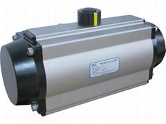 Control Va  e Pneumatic Actuator of Pinion-and- rack Type