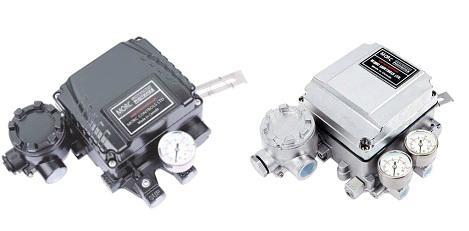 Linear va  e mechanical positioner for pneumatic actuator 1