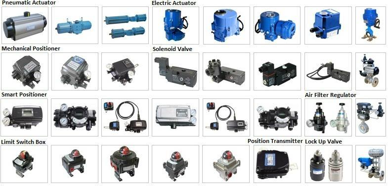 Linear va  e mechanical positioner for pneumatic actuator 5
