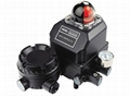Linear va  e mechanical positioner for pneumatic actuator 2