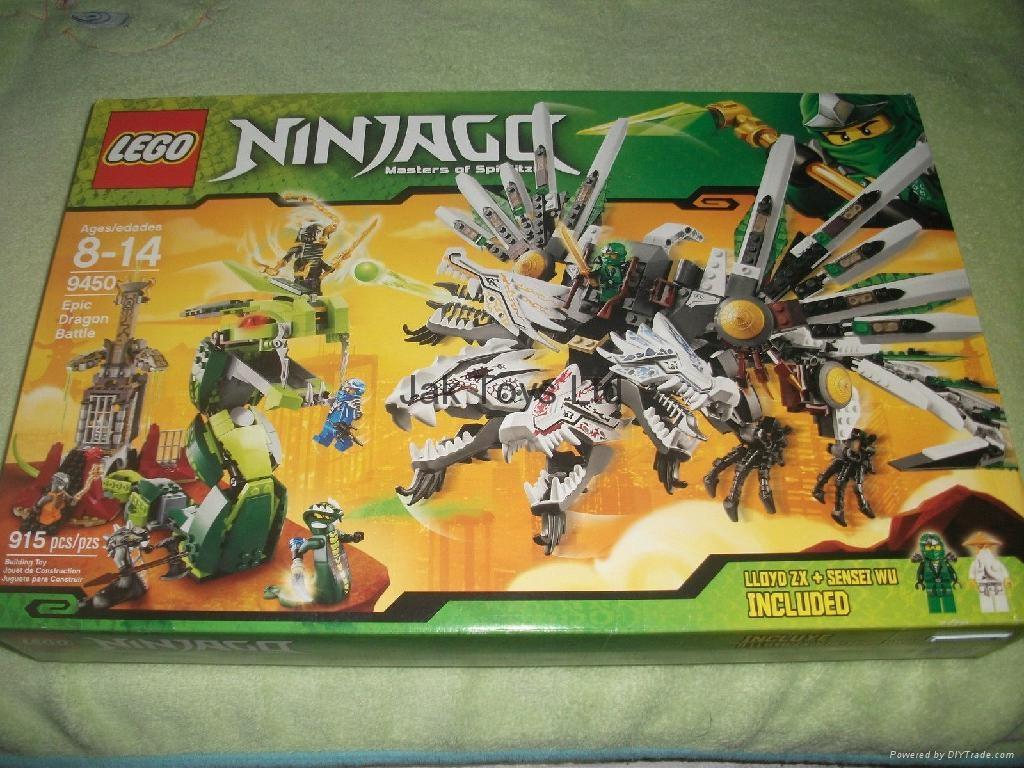 LEGO Ninjago Set #9450 Epic Dragon Battle 1