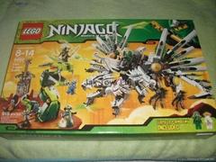 LEGO Ninjago Set #9450 Epic Dragon Battle