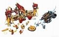 LEGO #70146 Legends of Chima Set Flying