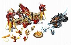 LEGO #70146 Legends of Chima Set Flying Phoenix Fire Temple
