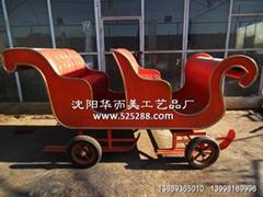 圣诞雪橇马车