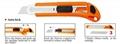 18mm Utility Knife Paper Knife All Color Size Item 1800 2