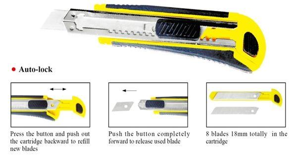 18mm Utility Knife Paper Knife All Color Size Item 1800 5
