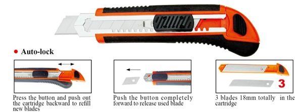 18mm Utility Knife Paper Knife All Color Size Item 1800 4