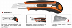 9mm Utility Knife  Paper Knife  All Color  Size Item1800