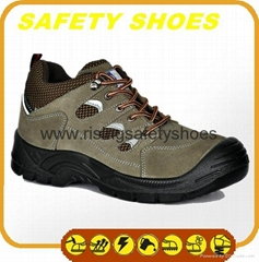 high quality comfortable industrial steel toe cap safety shoes