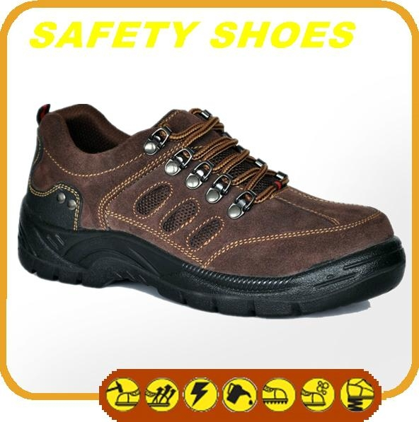 water proof ce certificated genuine leather safety shoes 4