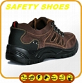 water proof ce certificated genuine leather safety shoes 5