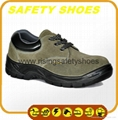 durable ce certificated genuine leather safety shoes 2