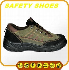durable ce certificated genuine leather work shoes