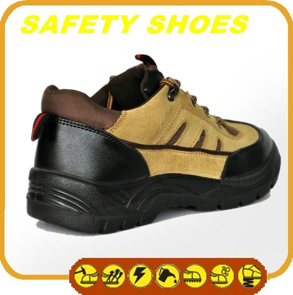 durable ce certificated genuine leather work shoes 3