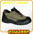 durable ce certificated genuine leather work shoes 4